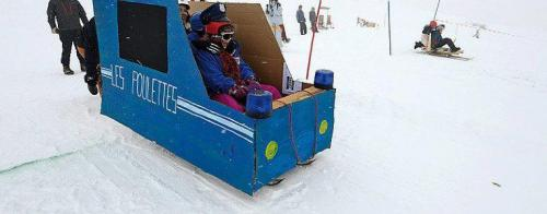 Push Car des Neiges